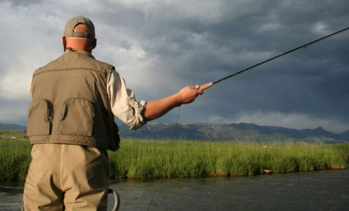 Fishing on Bushmans River